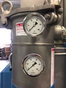 NOSHOK measurement solutions for industrial parts cleaning systems