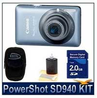 Canon Powershop SD940IS 12.1MP Digital ELPH Camera