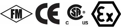 FM, CE, CSA, Ex Logos