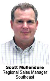 Scott Mullendore, Regional Sales Manager, Southeast