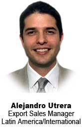Alejandro Utrera, Export Sales Manager, Latin America/International
