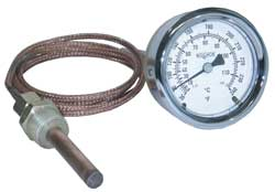 Vapor-Actuated Remote Thermometers
