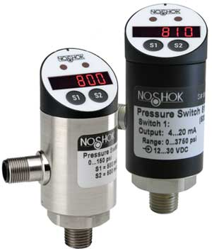 800/810 Series Electronic Indicating Pressure Transmitter/Switch
