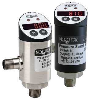 800/810 Series Electronic Indicating Pressure Transmitter/Switches
