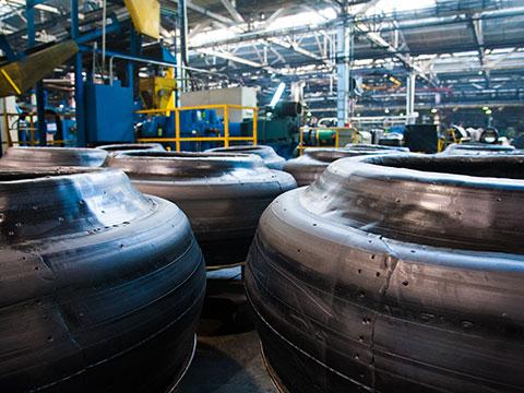 Custom Measurement Solutions for Tire Presses