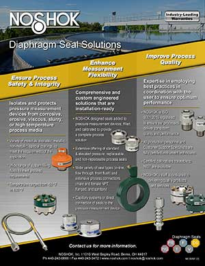 Value Added Benefits - Diaphragm Seals