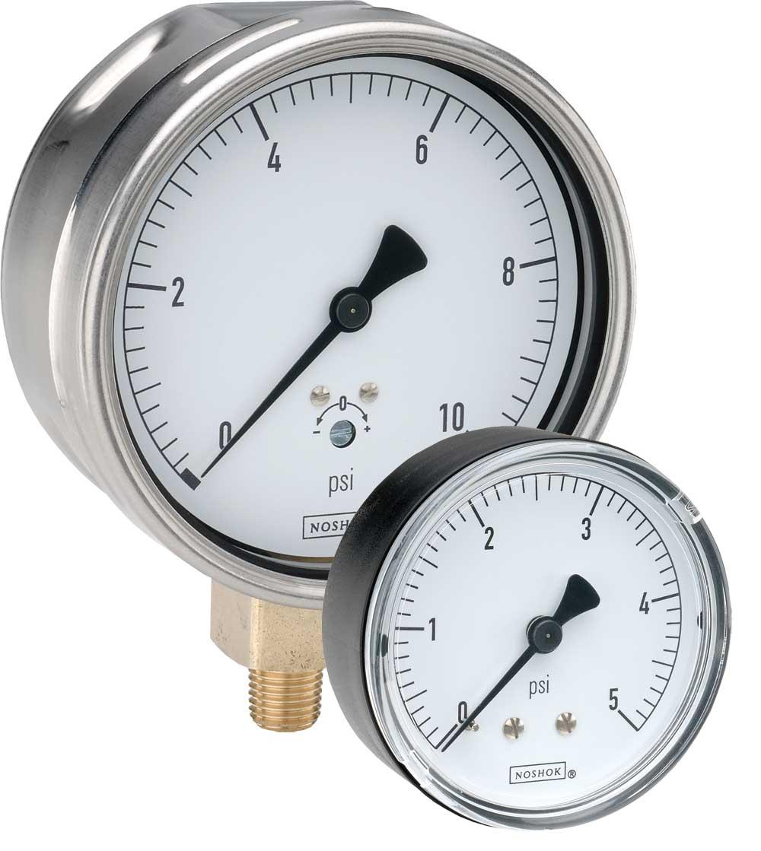 200 Series Low Pressure Diaphragm Gauges
