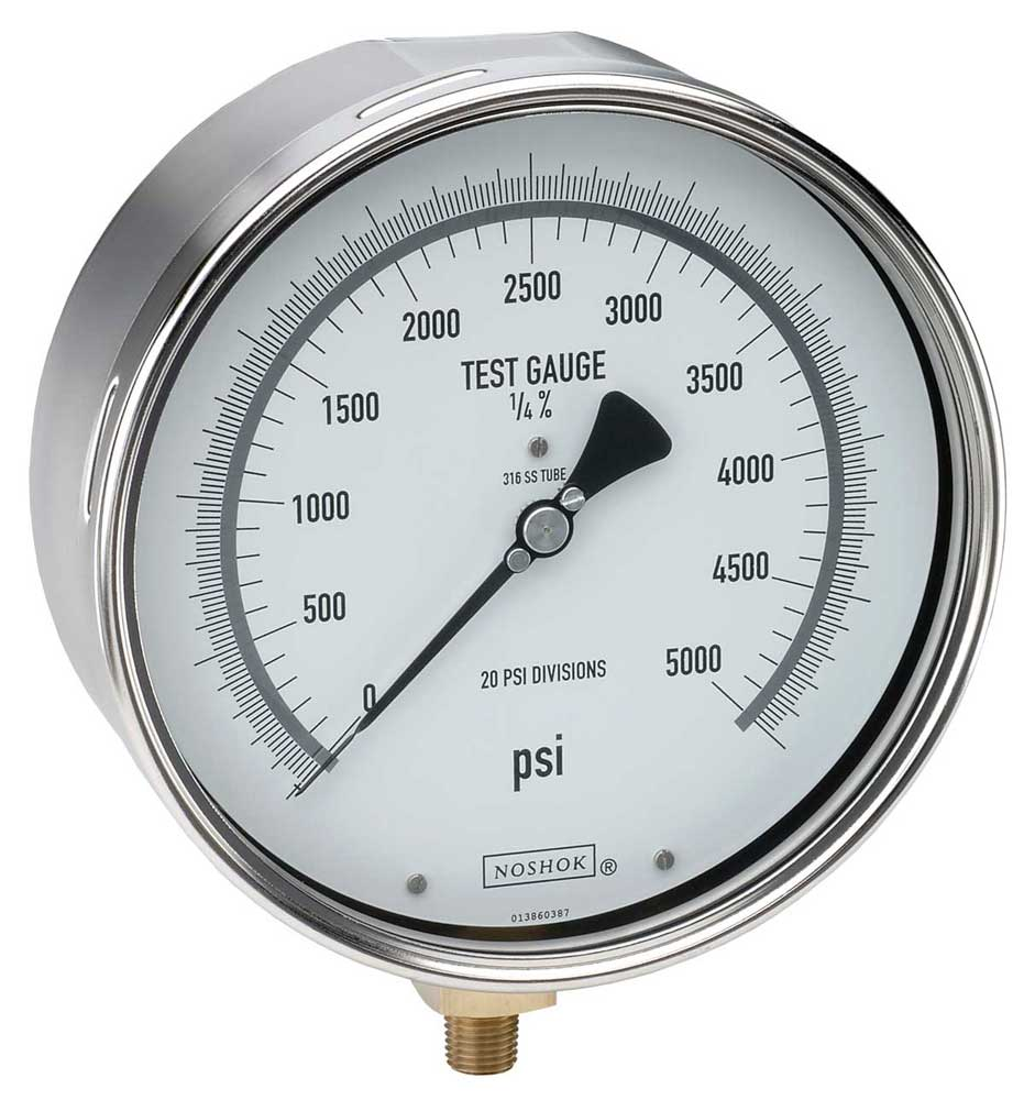 Precision Pressure Gauges : Series precision test gauges