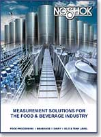 Pressure Measurement Solutions for the Food and Beverage Industry Catalog