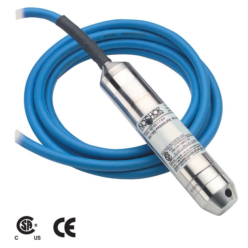 627 Series Intrinsically Safe Submersible Liquid Level Transmitters Transmitter Wiring Diagram