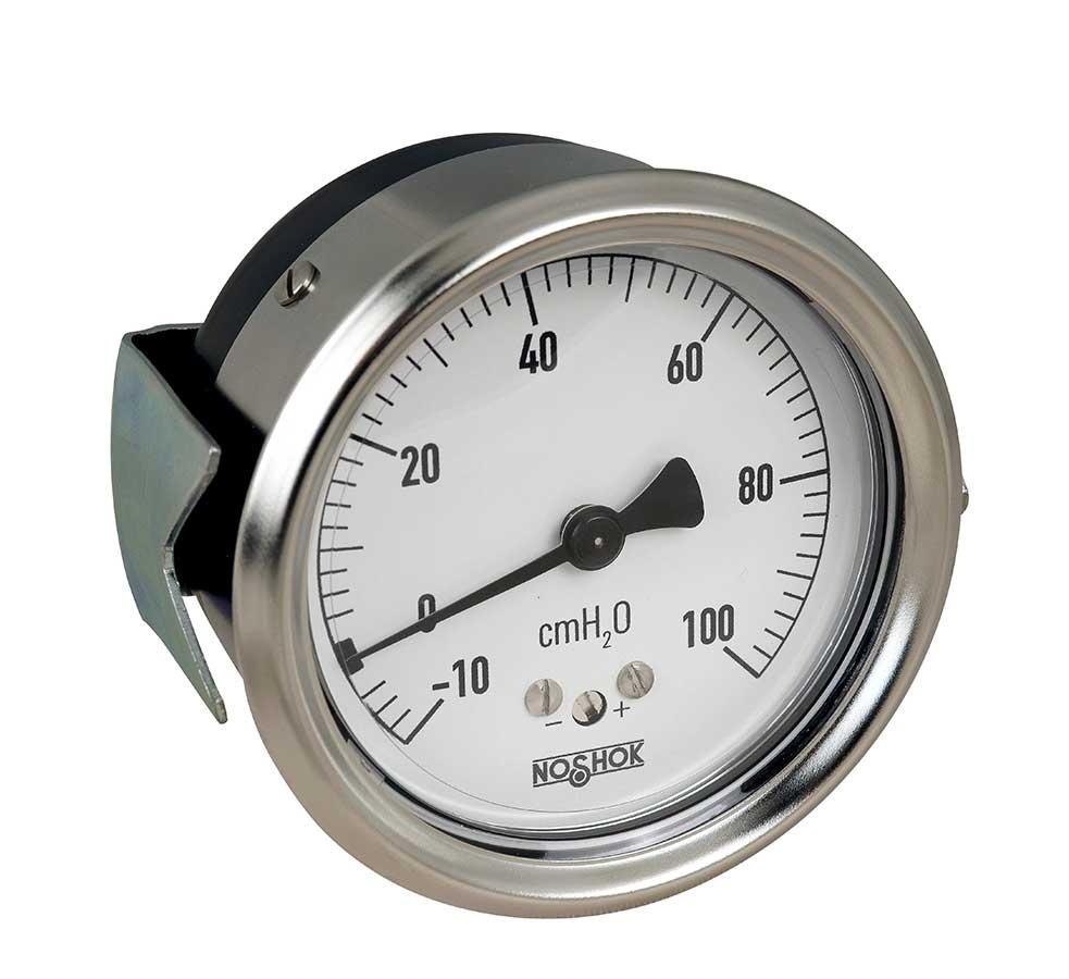 NOSHOK 200 Series Low Pressure Diaphragm Dry Pressure Gauge