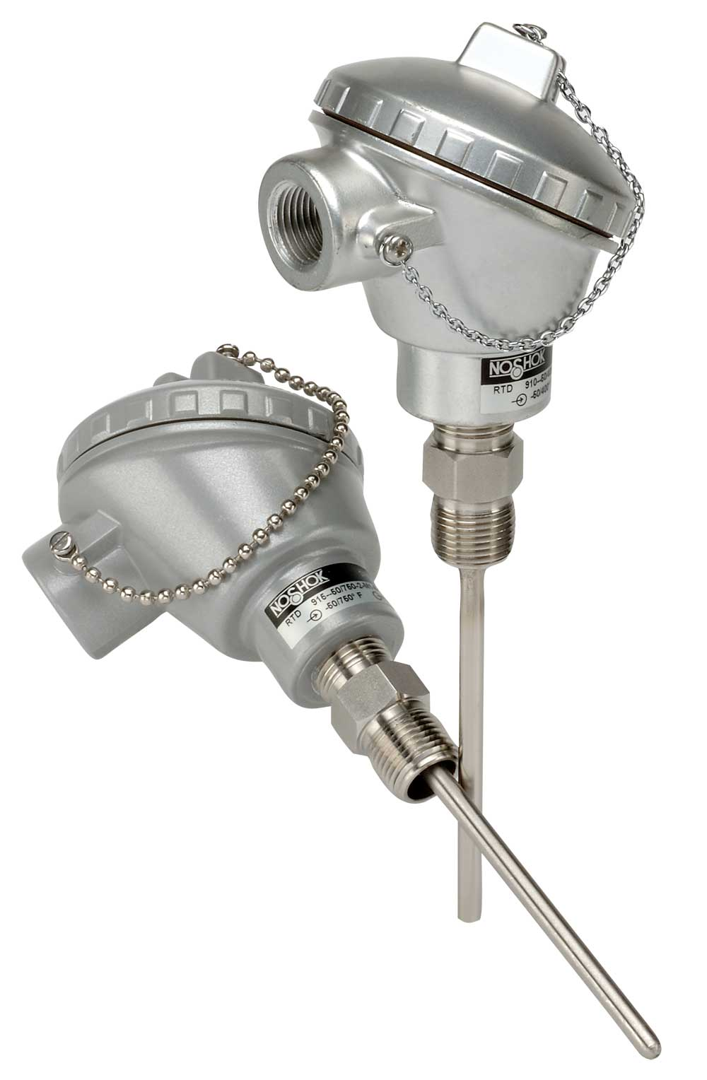 910  915 series industrial rtd  probe type with connection head